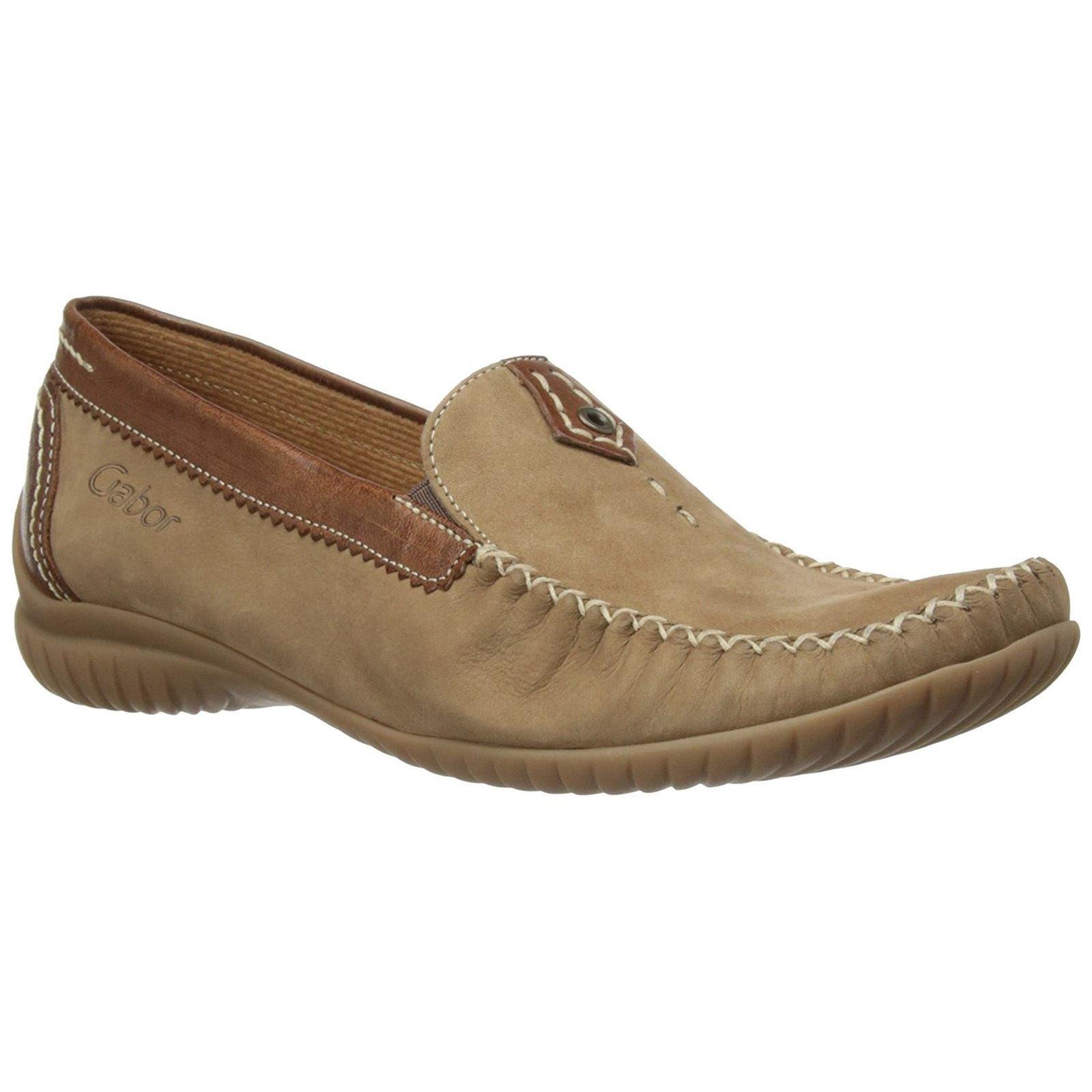 Gabor Womens California 86.090.43 Corda Copper Nubuck Shoes 8.5 US