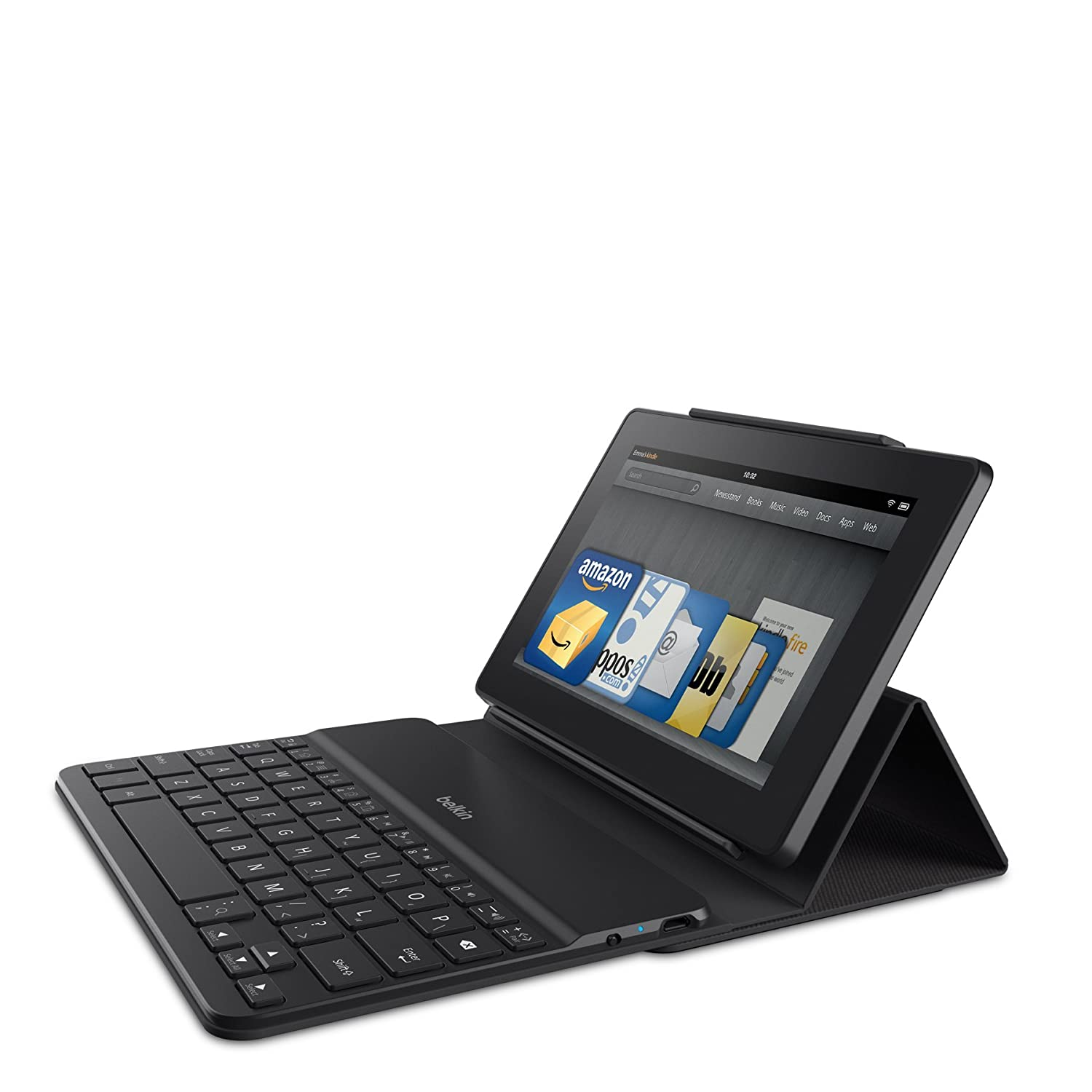 Belkin Kindle Keyboard Case for All New Kindle Fire HD 7 & HDX 7 (fits both devices) Belkin Inc. F5L164qttBLK