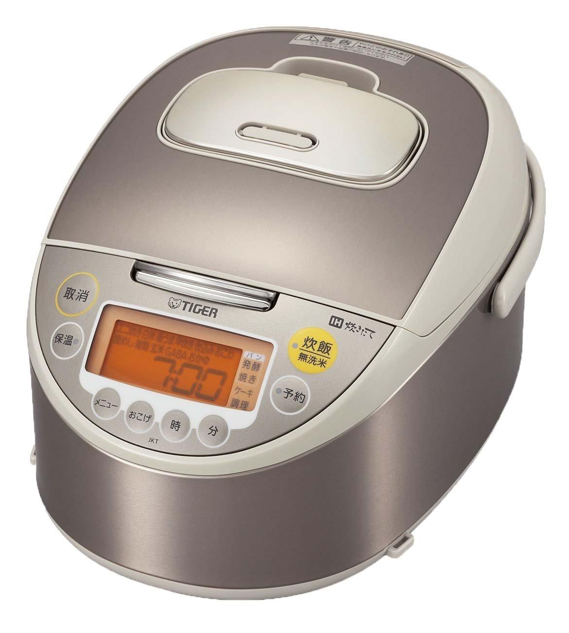 タイガー IH 炊飯器 一升 シャンパンベージュ 炊きたて 炊飯 ジャー JKT-W180-CC Tiger   B016BH83OU