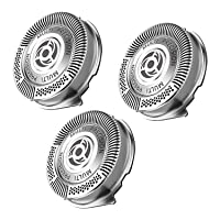 Deals on 3-Pk 9ABOY SH50 Replacement Heads for Philips Norelco Shavers