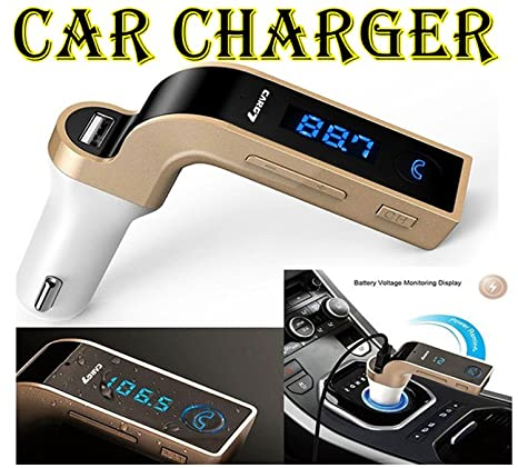 VOLTAC Bluetooth Car Charger 2.5A with Turbo Chargng Model 408895 Car Chargers
