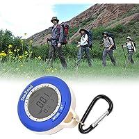 Ckeyin multi - 6–yne-digital-boussole électronique avec altimètre, baromètre et thermomètre temps et plus