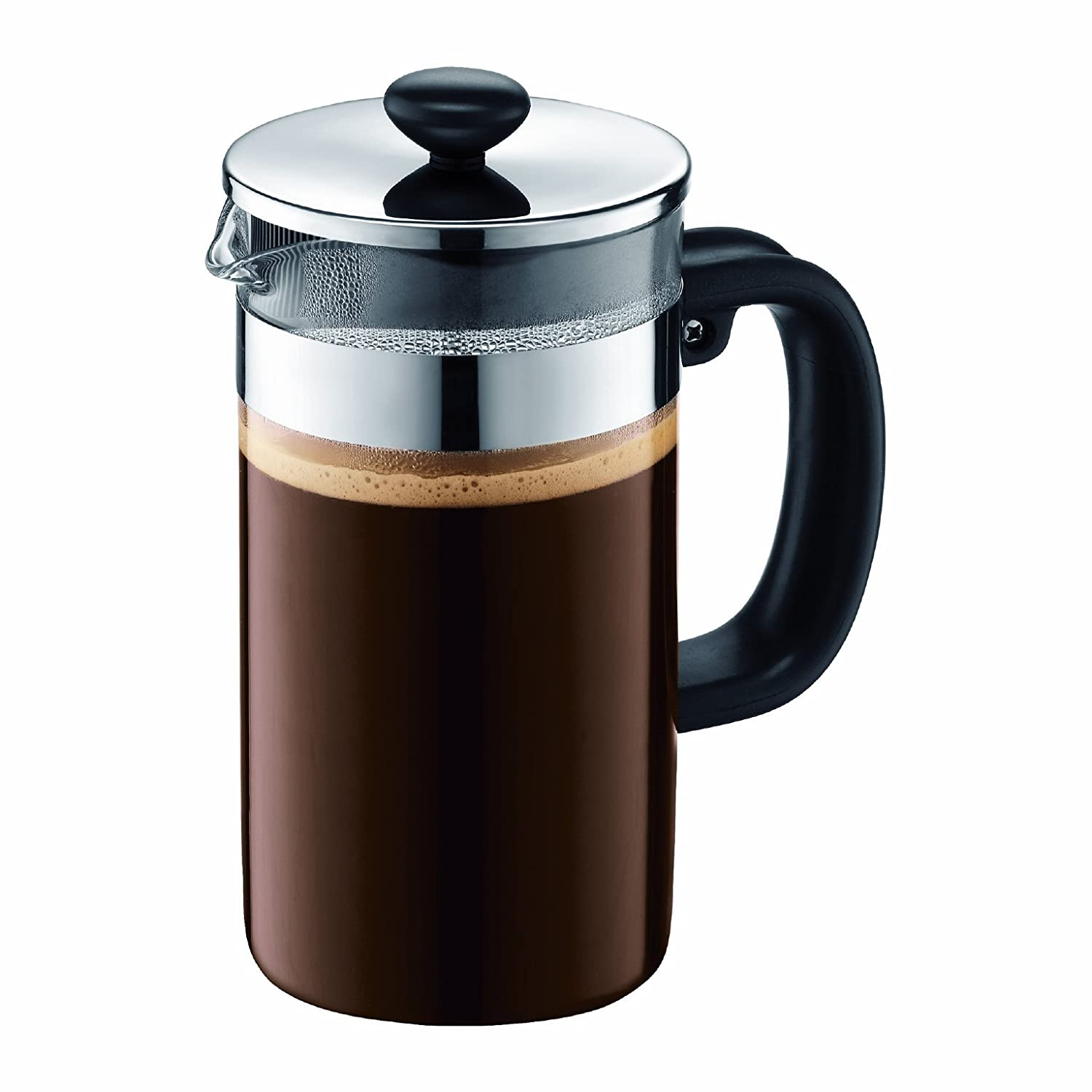 Bed bath beyond french press - Amazon Com Bodum Shin Bistro 8 Cup Coffee Press No Cork 34 Ounce French Presses Kitchen Dining