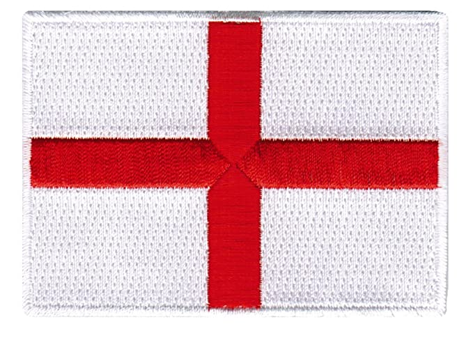 amazon com st george s cross embroidered patch england flag