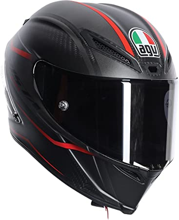 AGV Replacement Head Liner for Pista GP R Helmets Pick Size Black//Red