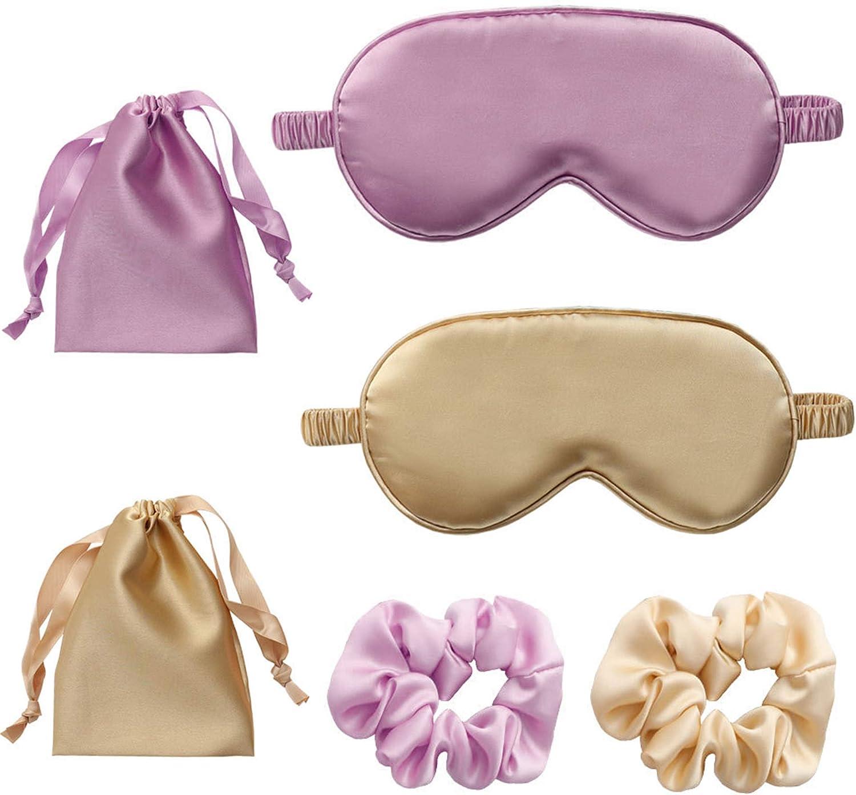 Schneespitze 2Pcs Masque de sommeil,Masque pour les yeux pour dormir,Masque de Nuit Masque de Couchage Confortable Super Doux Yeux Housse Pour les voyages la famille lh/ôtel