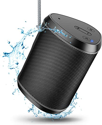 Amazon Com Comsoon Portable Bluetooth Speakers Wireless Mini Speaker With Stereo Sound Effect Rich Bass 66ft Bluetooth Range Built In Mic Support Aux Tf Card Ipx6 Waterproof Outdoor Speaker For Iphone Ipad Home Audio