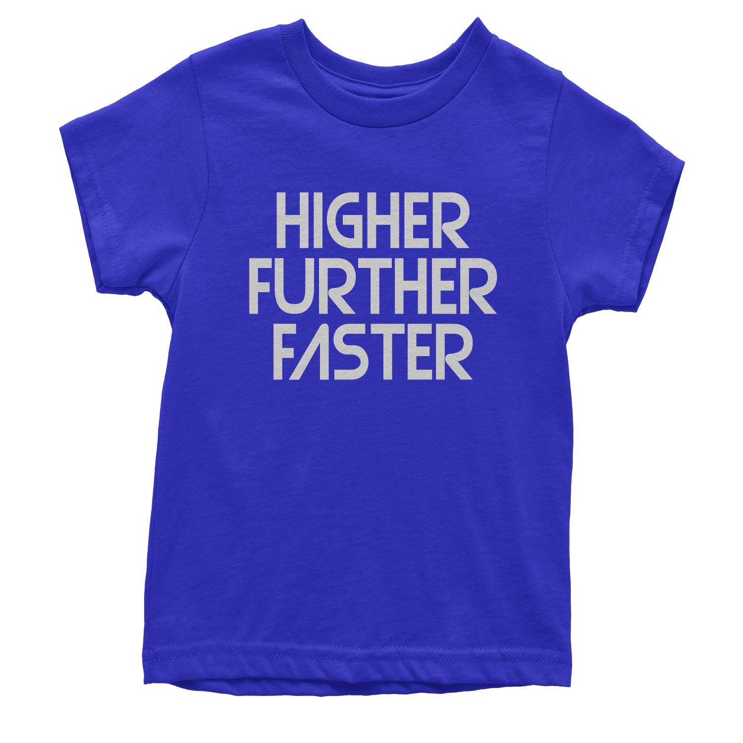 Further Expression Tees Higher Faster Youth T-Shirt