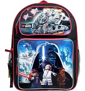 Disney Star Wars Millenium Falcon Kids School Backpack with motion lights!