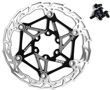 Freno de disco flotante de acero inoxidable para bicicleta, 160 mm ...