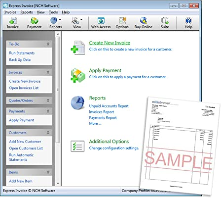 Amazoncom Express Invoice Software For Managing Invoices And - Invoice software amazon