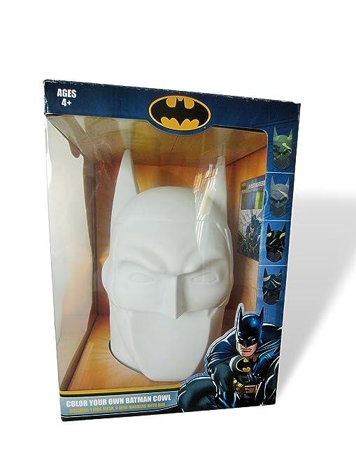 Amazon.com: DC Comics Color Your Own Batman Cowl Hard Shell Plastic ...