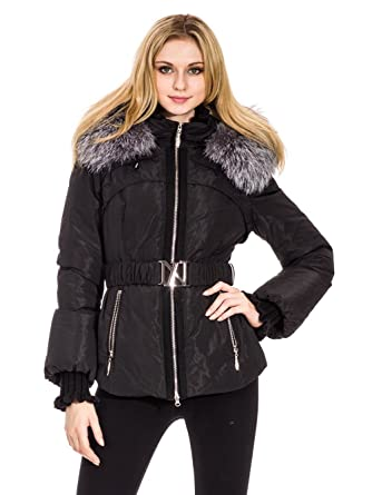 new product 41cfe 075c4 Chaleur Fashion Damen Daunenjacke Adele mit echtem ...