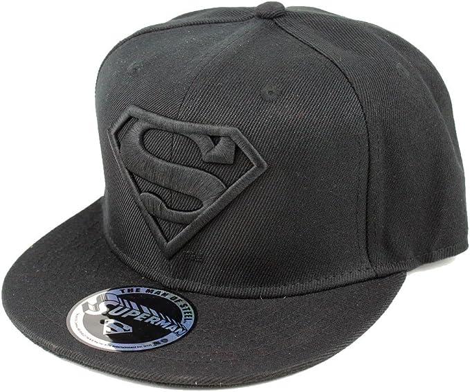 DC Comics Gorra de Superman para hombre, logotipo clásico, gorra ...