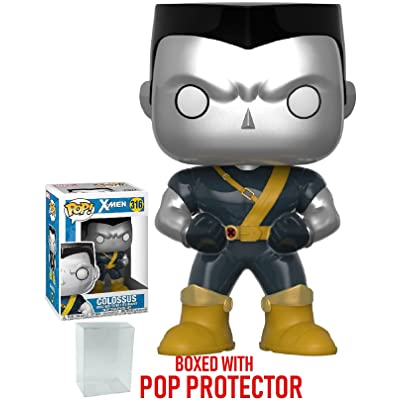 Funko Pop! Marvel X-men: Deadpool Parody - Colossus Vinyl Figure (Bundled with Pop Box Protector Case): Toys & Games