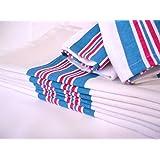 6PK - Soft 100% Cotton Nursery Receiving HOSPITAL BABY BLANKETS 30 x 40