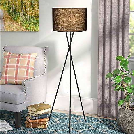 Lámpara de pie trípode lámpara de pie. Lámpara de pie para salón.New-GO lámparas de pie modernas,lámpara nordica. Lámpara de pie para salón de ahorro ...