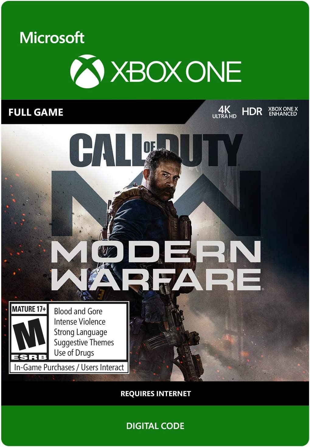 Amazoncom Call Of Duty Modern Warfare Standard Edition