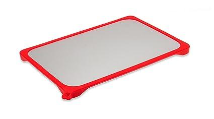 KochWunder – Tabla para facilitar la descongelación con esquinas antideslizantes de silicona