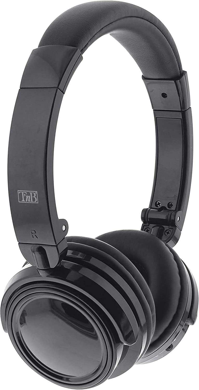 T'nB Auriculares 4 en 1 - Inalámbricos con Bluetooth 2.1 + EDR, Lector de Tarjeta Micro SD y Radio FM Integrada