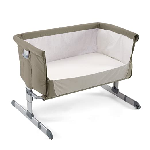 "https://www.amazon.com/dp/Chicco Side Sleeping Crib Next2Me ""Dove Grey"" Baby Crib Next 2 Me Brand NEW/?tag=isisparenting-20"