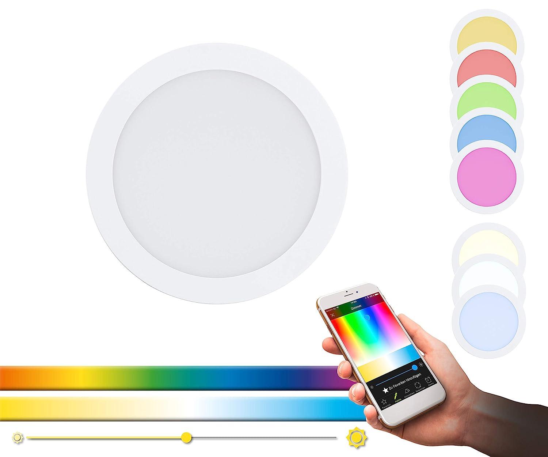 calidad garantizada EGLO FUEVA-C FUEVA-C FUEVA-C Luz empotrable, 15.6 W, blancoo  Obtén lo ultimo
