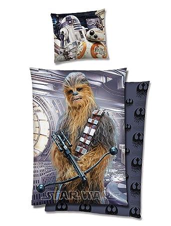 Star Wars Wende Bettwäsche 135x200cm 2 Tlg Chewbacca 3d Effekt Inkl