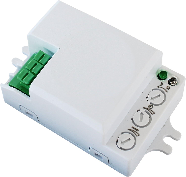 500 W detector de movimiento Microondas Radar Sensor Interruptor ...