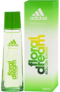 2 x Adidas Floral Dream Eau de Toilette/para mujer/75 ml cada uno