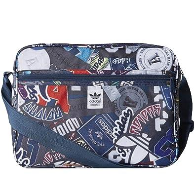 f1000eabda87 adidas Originals Mens Badge Airliner Bag - Blue  Amazon.co.uk  Shoes   Bags