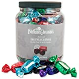 Assorted Chocolate TruffleCremes in Dark & Milk Chocolate - 28oz Jar