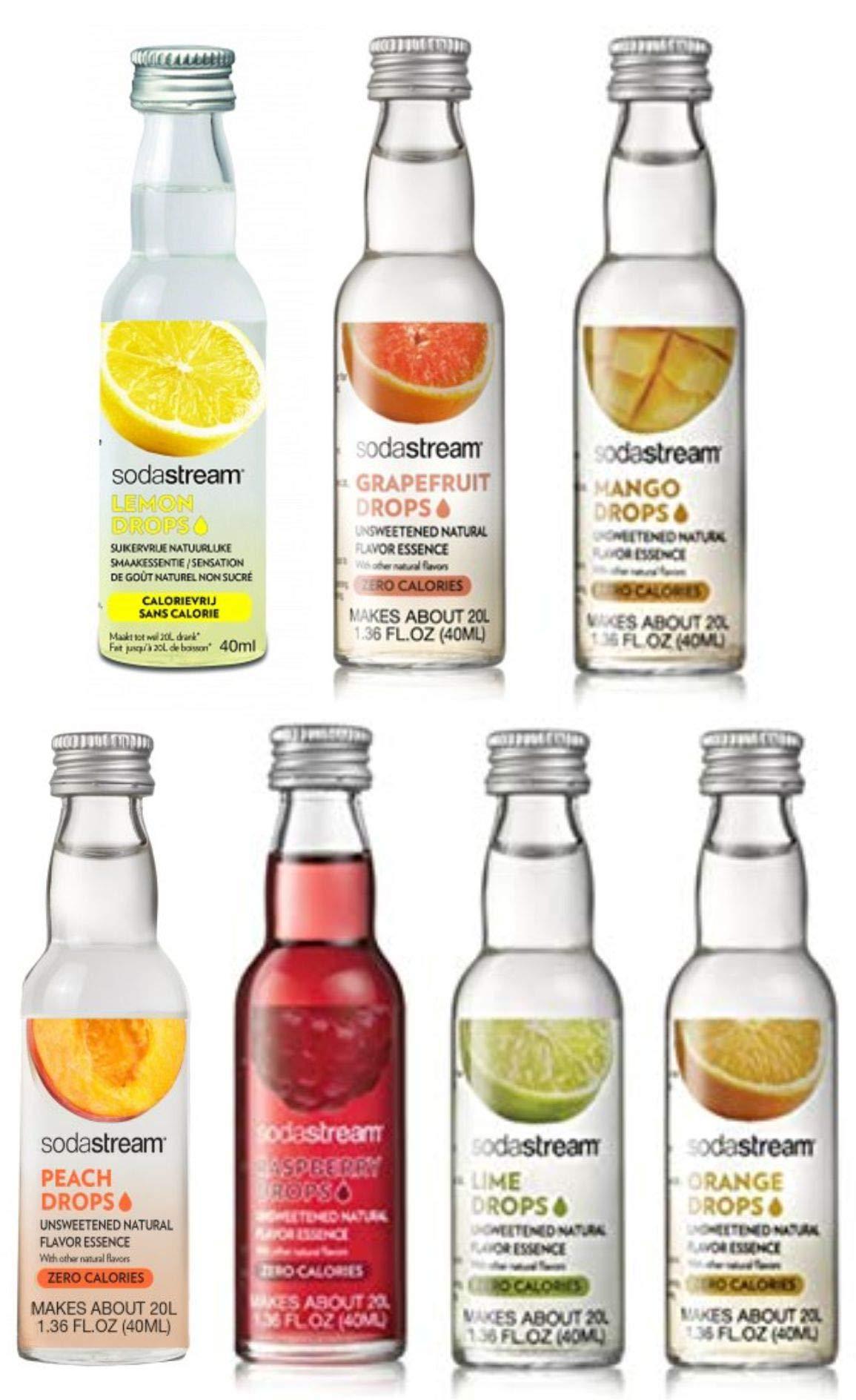 SodaStream Fruit Drops 7 Pack by MonstaDeals