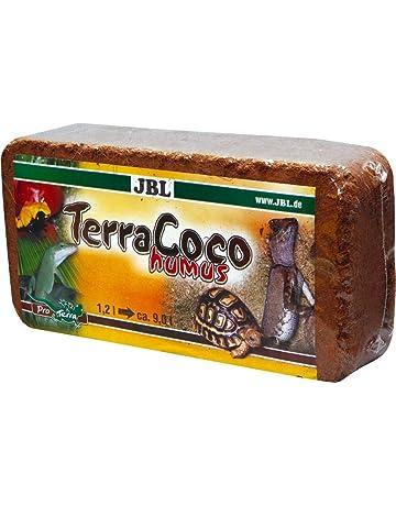 JBL para todos los Tipos de terrarios de Suelos, Coco Chips, Comprimidos, torfartig