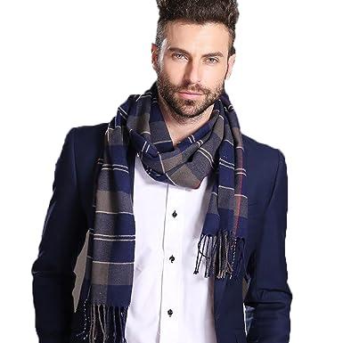 ff5dac30552d Écharpe d hiver Hommes, Youson Girl® Hommes Echarpes d hiver à Carreaux