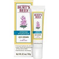 Burt's Bees Intense Hydration Eye Cream, Moisturizing Eye Treatment, 0.5 Ounces