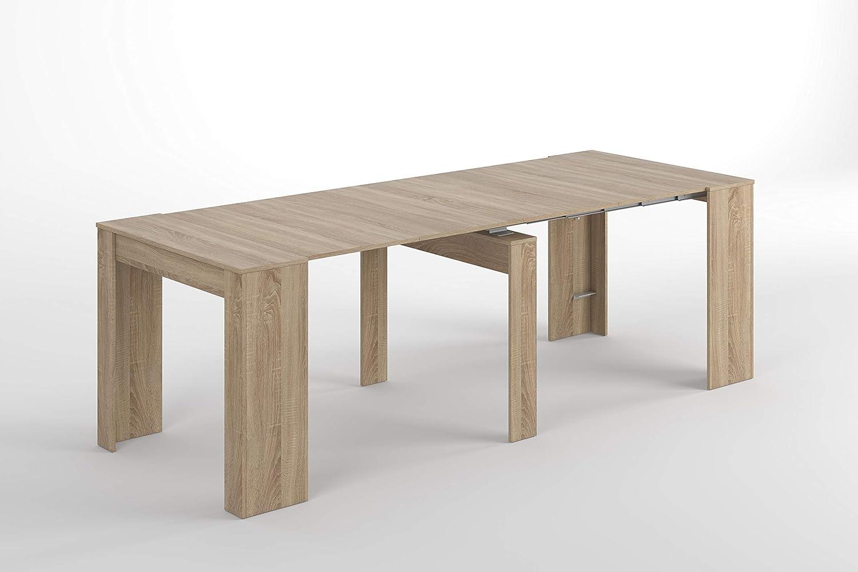 Esidra tavolo allungabile consolle legno cm allunghe x