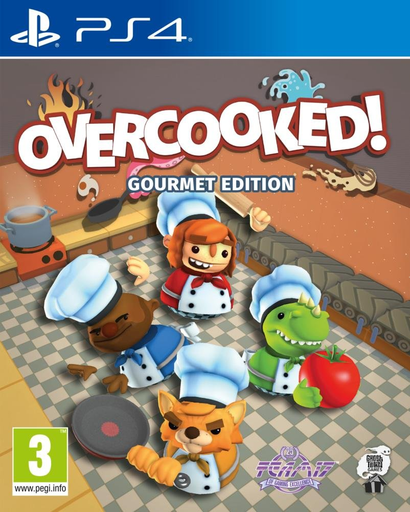 Overcooked - PS4 | Ghost Town Games. Programmeur