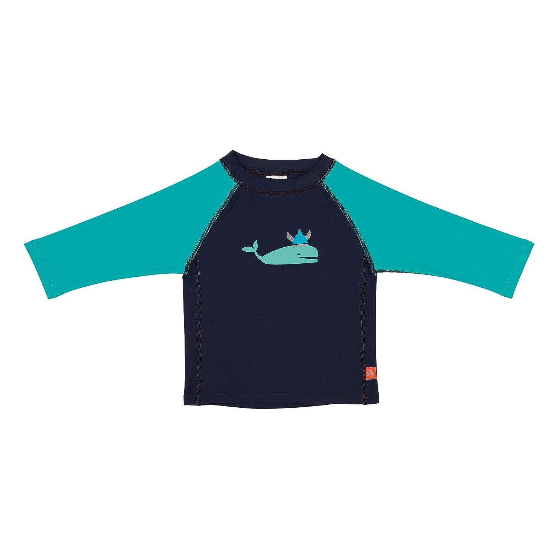 Lässig T-shirt pour bébé - à manches longues - Bleu (Blue Whale) - 3 ans LSSIG 1431008410-36