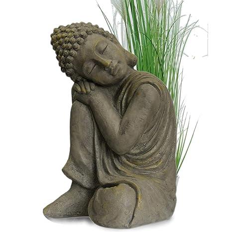 Bouddha Statuette Chinois 43 Cm Decoration Zen Pour Interieur Exterieur Jardin Zen Feng Shui