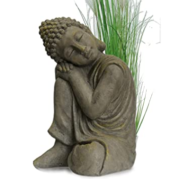 Bouddha Statuette Chinois 43 cm décoration zen pour intérieur ...