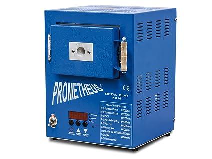 Prometheus Blue Mini Jewellers Metal Clay Kiln Pro 1 Preset For