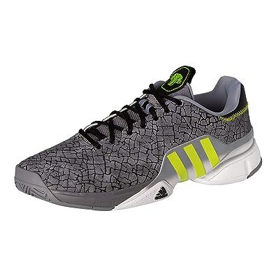 48329ecc Amazon.com | adidas Men's Barricade 2016 Boost Tennis Shoes, Grey ...