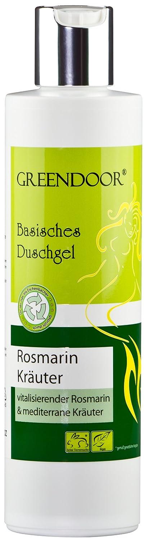Greendoor Basisches Duschgel Rosmarin 250ml, 4,5 Sterne, biologisch ...