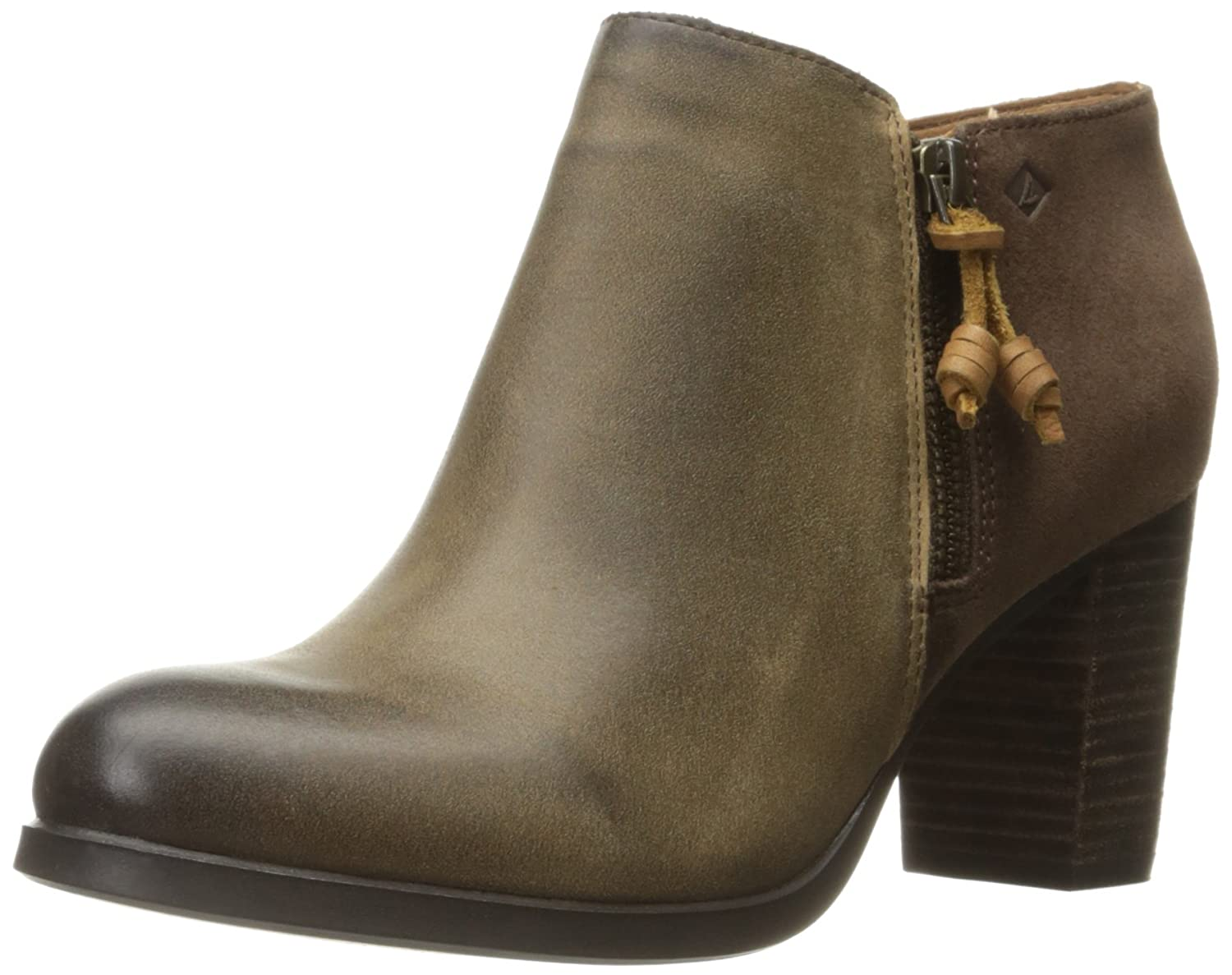 Sperry Top-Sider Women's Dasher Lille Ankle Bootie B019X5D6XK 11 B(M) US|Khaki