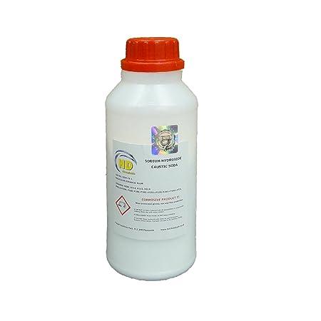 2 x 500g CAUSTIC SODA (99%) Grade 'Pearl' Drain Cleaner,Soap Making Sodium  Hydroxide