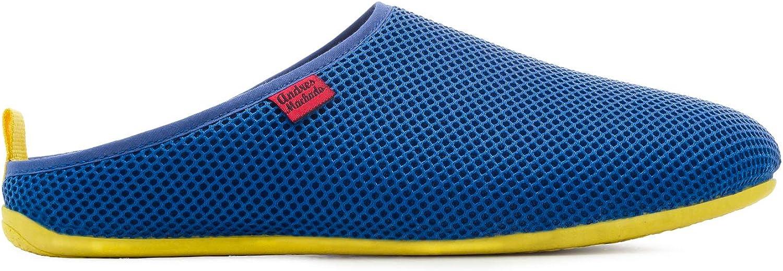 Tallas de la 37 a la 50 Zapatillas de Estar por Casa Unisex en Rejilla para el Verano Dynamic Spring Made IN Spain. Andres Machado