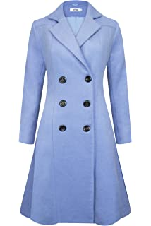 785c318d172d7 APTRO Womens Coats Winter Long Casual Toggle Outerwear Double Breasted Wool  Coat  2