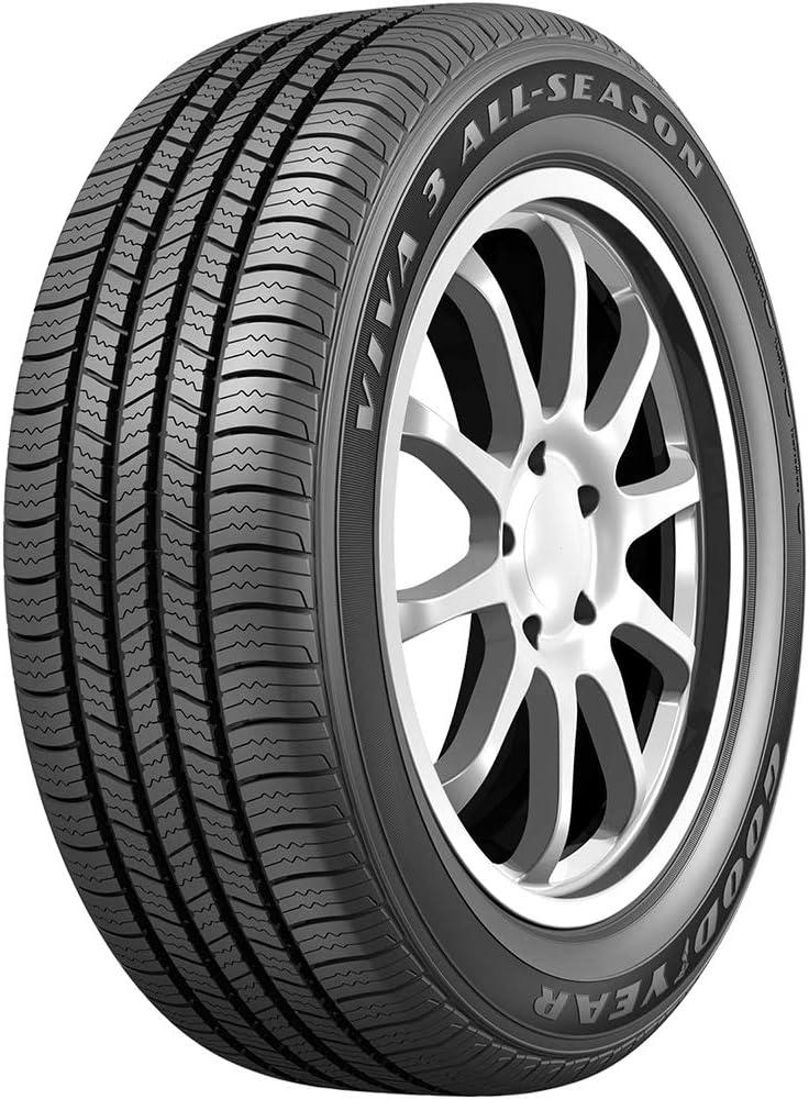 Goodyear Viva 3 All-Season Touring Radial Tire-195//70R14 91T