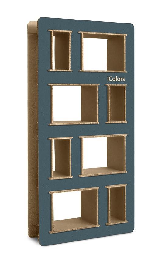 Corvasce Design - Libreria in cartone naturale modello Colors ...