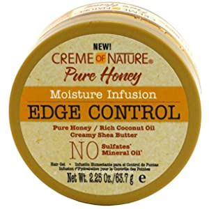 Creme Of Nature Pure Honey Moisture Infusion Edge Control, 2.25 Ounce